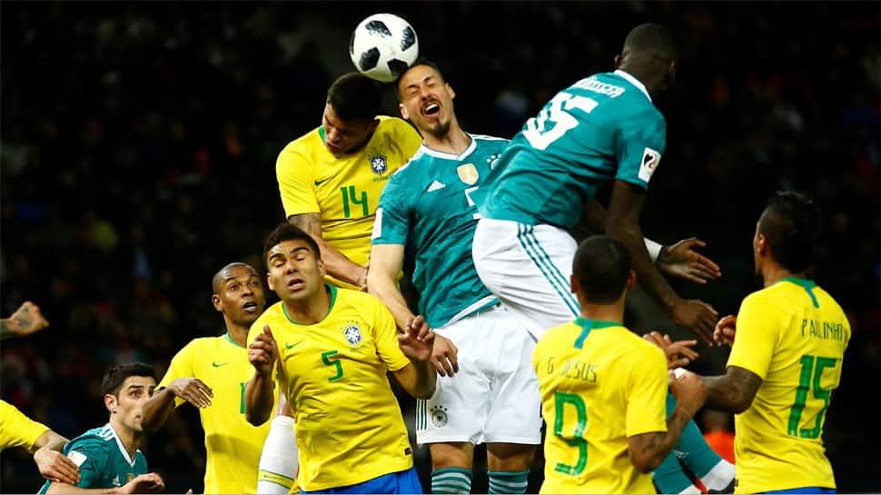 Football Friendly: Gabriel Jesus winner takes Brazil past old adversaries Germany 1-0