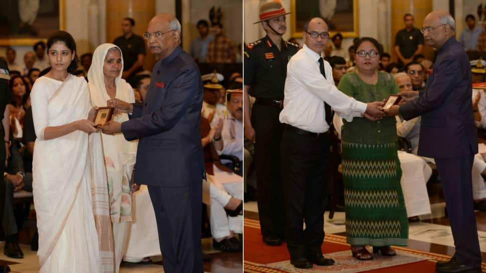 President Ram Nath Kovind Presents Gallantry Awards And