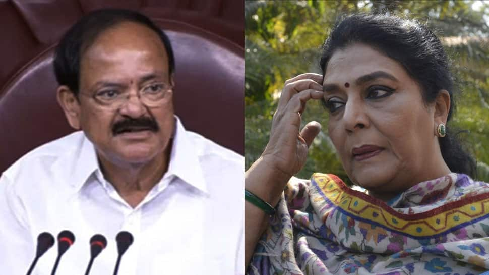 Congress MP Renuka Chowdhury asked to 'lose weight' in quip by Vice President Venkaiah Naidu