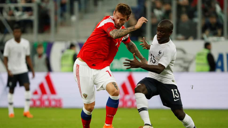 FIFA probes racist abuse at Russia-France friendly