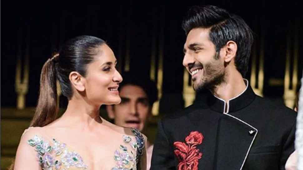 Kareena Kapoor blushes as Kartik Aaryan sings Ban Ja Tu Meri Rani; Internet outraged