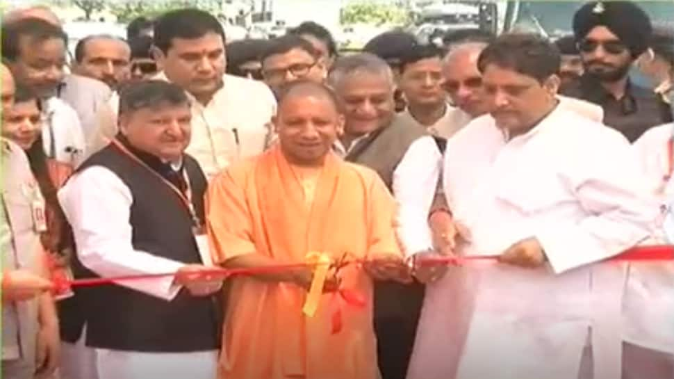 Yogi Adityanath inaugurates India's largest single-pier elevated road