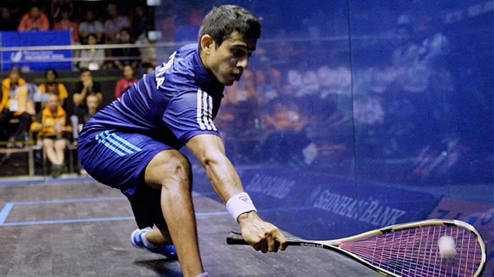 Upbeat Indian squash team leaves for Commonwealth Games