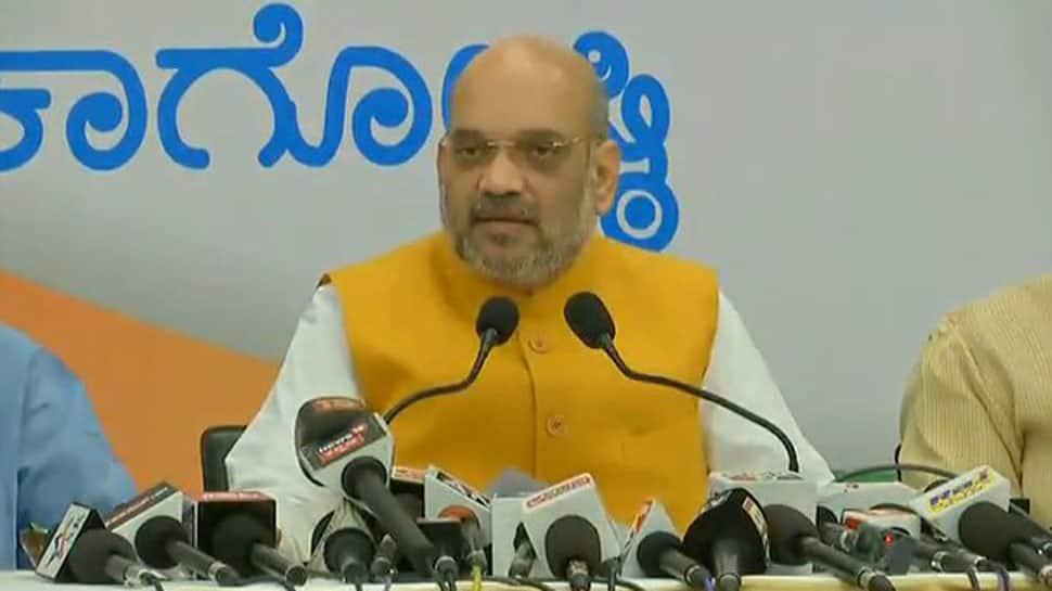 Lingayat is Congress' strategy to stop Yeddyurappa: Amit Shah