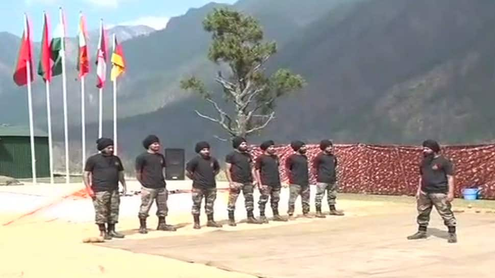 Watch: Miles away from home, Sikh Light Infantry celebrates Bada Khana in Arunachal's Kibithu