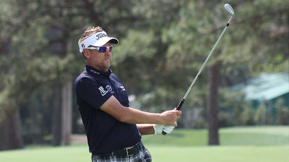 Golf: Ian Poulter shares lead in Houston Open, keeps Masters hopes alive