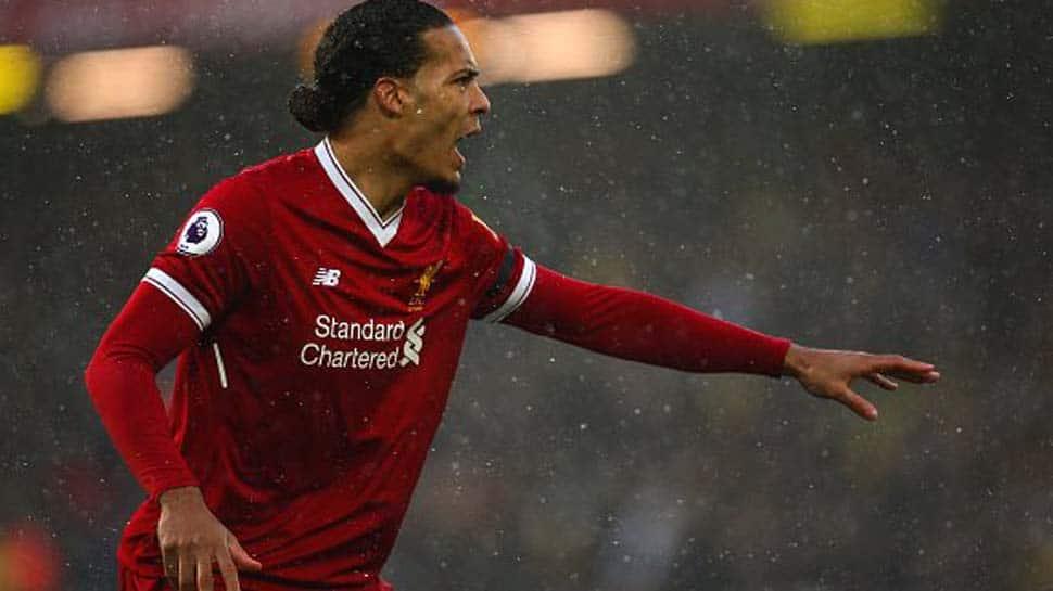 Liverpool's Virgil Van Dijk relishing Manchester City test in Champions League
