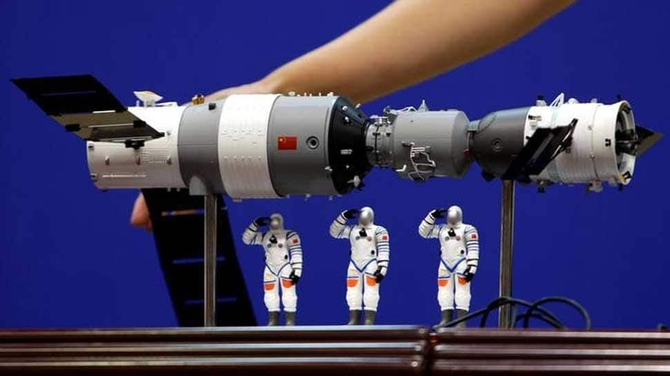 China's Tiangong-1 space station may fall back to earth on Monday