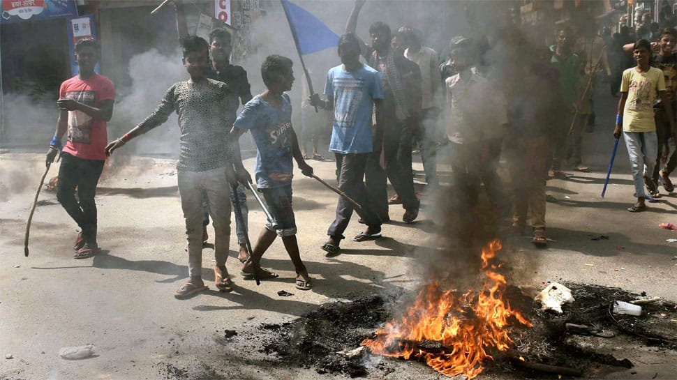 Bharat Bandh: Six dead as Dalit groups clash with police over SC/ST Act