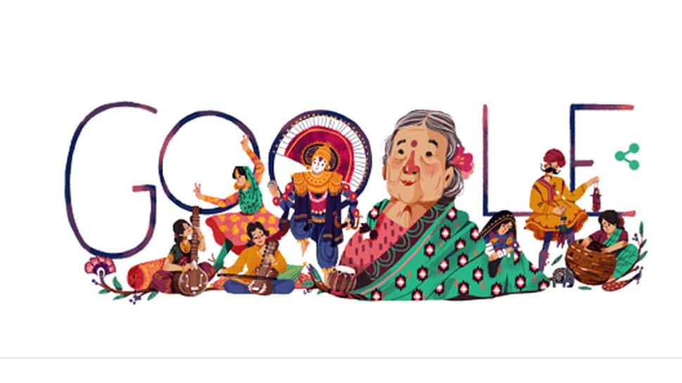Google doodle salutes Kamaladevi Chattopadhyay – activist, social reformer and freedom fighter