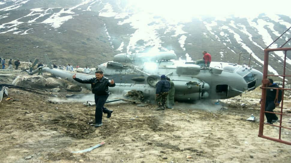 Indian Air Force's cargo helicopter crashes near Kedarnath temple