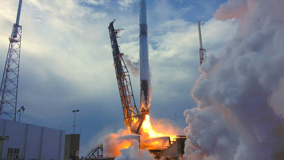 SpaceX successfully launches Falcon 9 rocket in resupply mission to space station