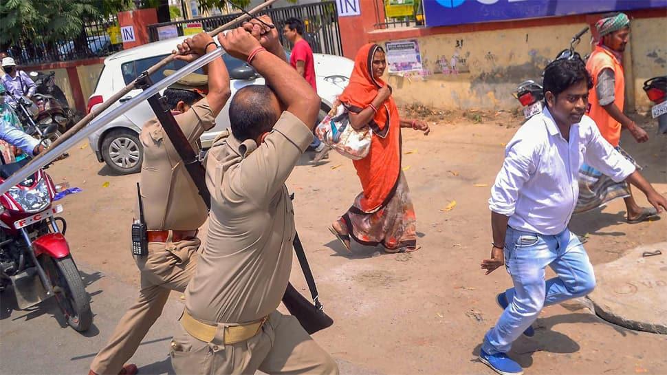 Bharat Bandh: Protestors set BJP MLA's house on fire in Hindaun in Rajasthan