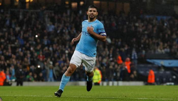 Sergio Aguero ruled out of Manchester City's Champions League trip to Liverpool