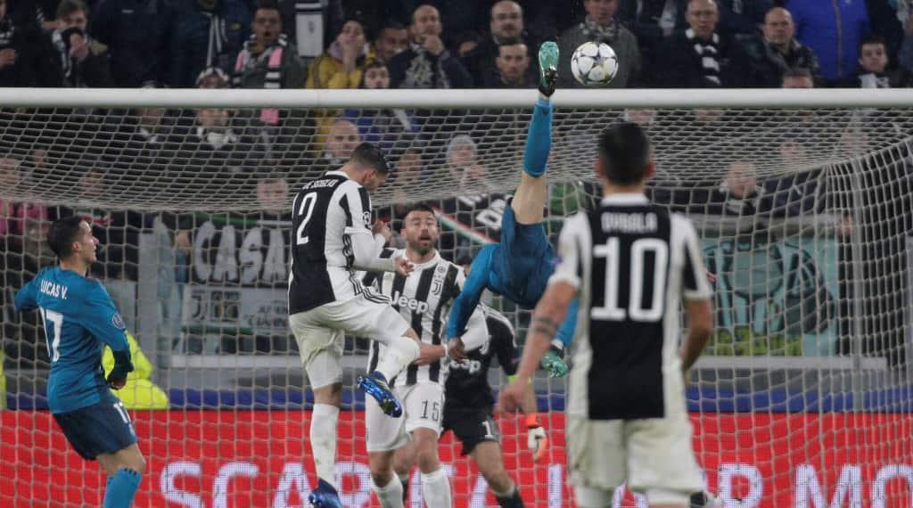 Juventus fans in awe of Ronaldo after bicycle kick stunner