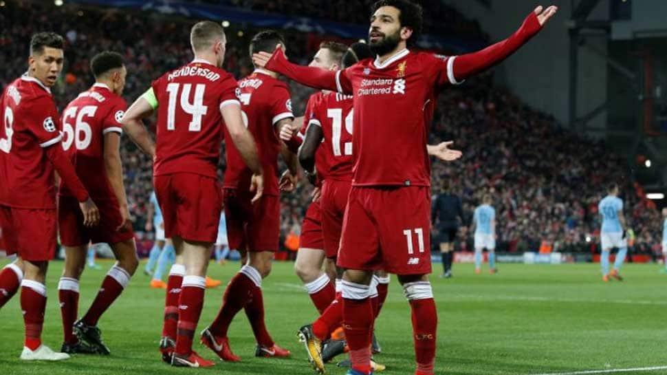 Champions League: Liverpool stun Man City in quarter-final first leg