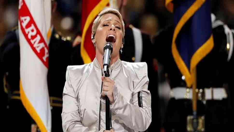 Grammy winner Pink forgets lyrics of her own song at concert