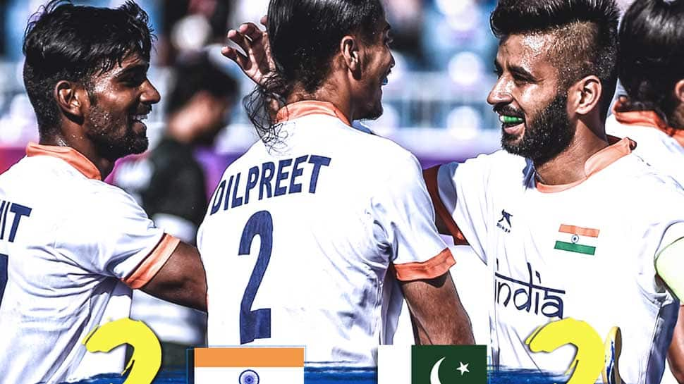 Gold Coast CWG 2018: Last-minute goal by Pakistan leads to a 2-2 draw with India in Hockey