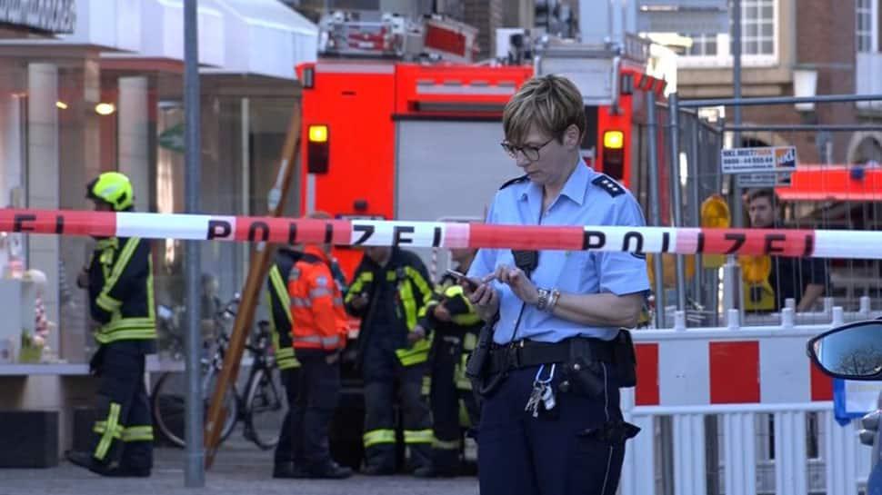 At least 4 dead, several injured after car ploughs into pedestrians in Germany's Munster