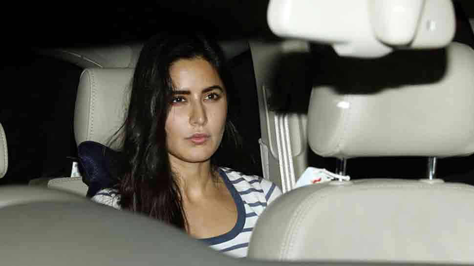 Katrina Kaif arrives at former beau Salman Khan's Mumbai residence  — Check photos