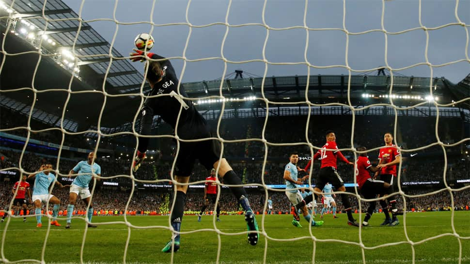 No celebration for City after United comeback derby win