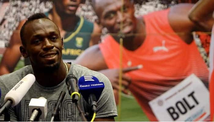 Usain Bolt to be in stands for Yohan Blake in CWG 100m final on Monday