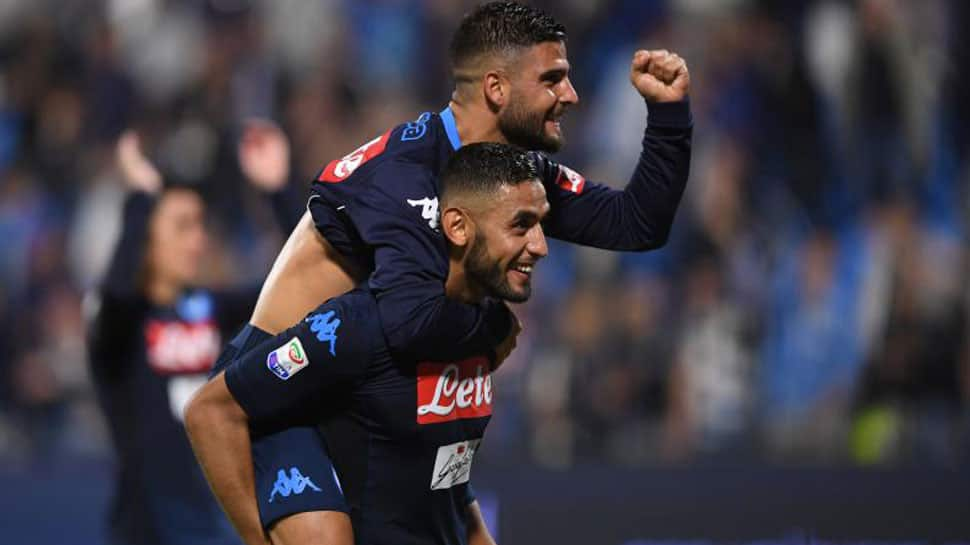 Serie A: Napoli keep title race alive with dramatic win over Chievo