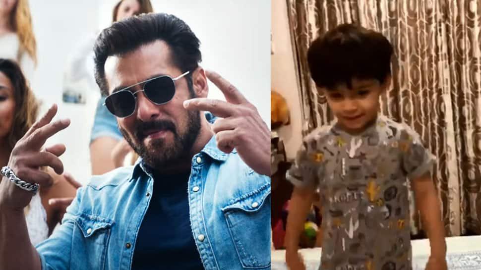 TV actor Arjun Bijlani's son is a Salman Khan fan, dances to 'Swag Se Swagat'—Watch