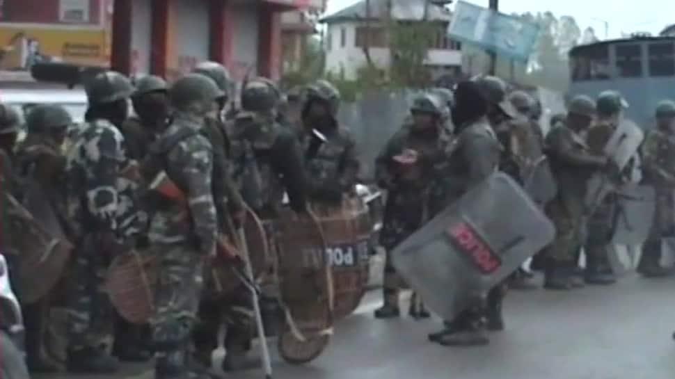 Encounter between forces, terrorists in J&K's Kulgam, 1 jawan killed