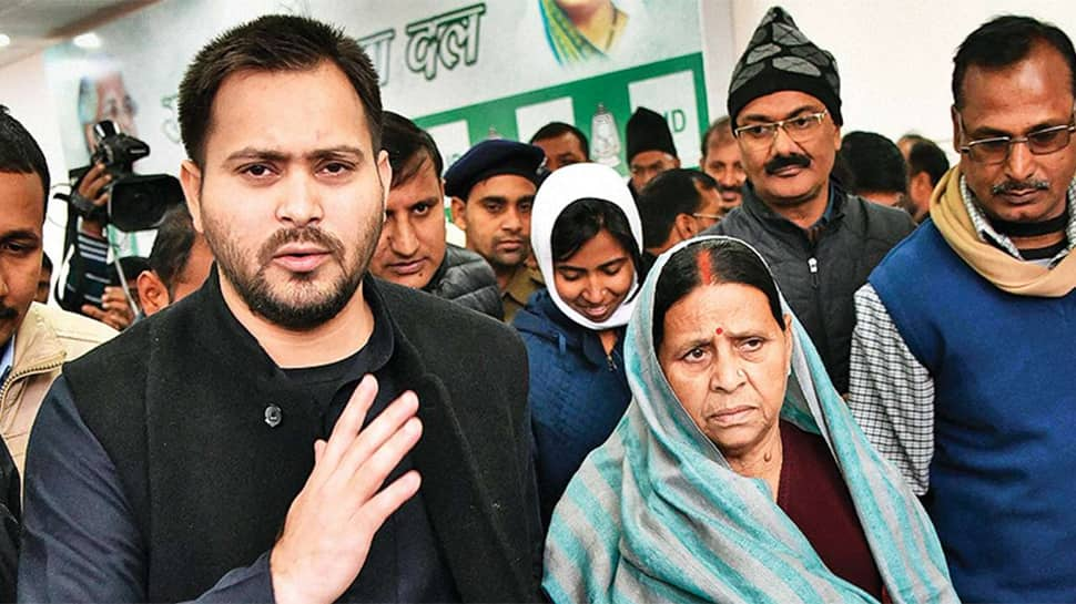 Jawans guarding Rabri Devi withdrawn; sons Tejashwi, Tej Pratap give up security in protest