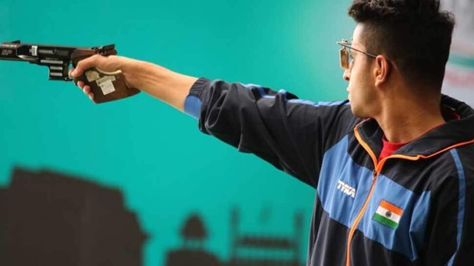 Commonwealth Games 2018, Gold Coast: Shooter Neeraj Kumar shines in men`s 25m Rapid Fire Pistol