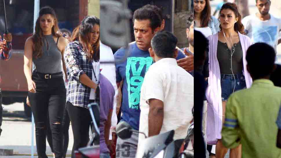 Race 3: Salman Khan, Jacqueline Fernandez, Daisy Shah spotted on sets — See pics