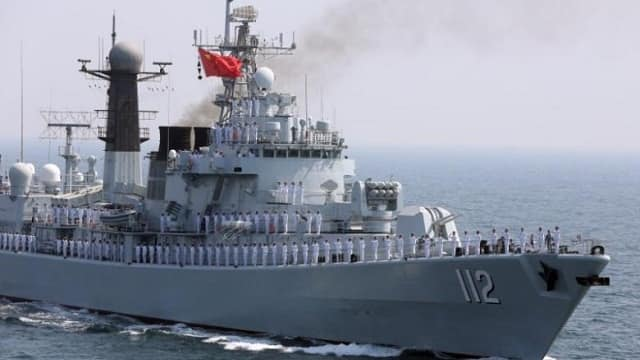 In show of strength, Xi Jinping presides over China's massive naval drill in South China Sea