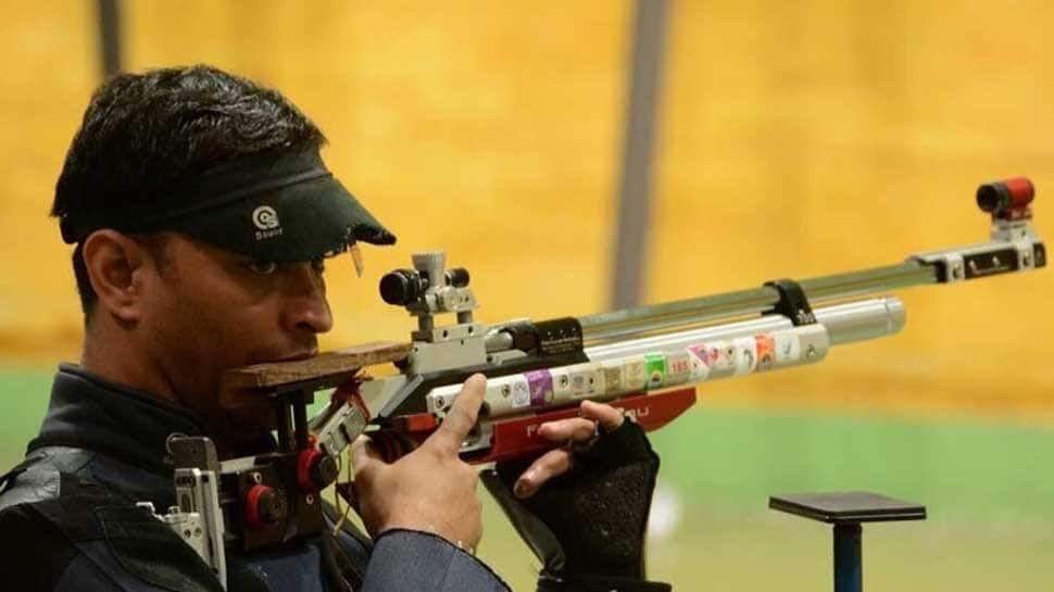 Commonwealth Games 2018, Gold Coast: Sanjeev Rajput shoots Gold in men's 50m Rifle 3