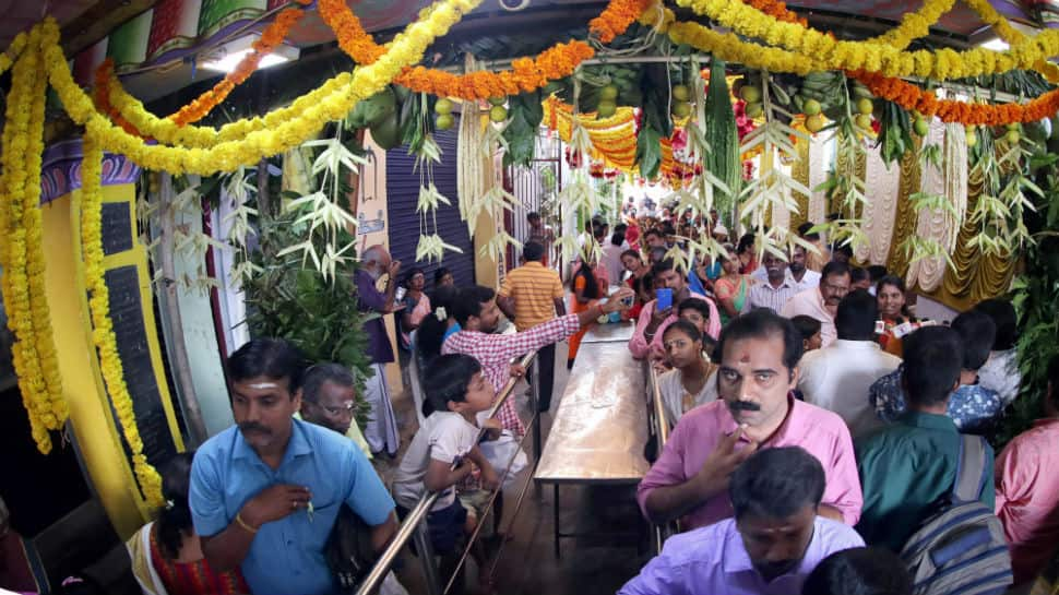 Puthandu 2018: Idol in Coimbatore temple decorated with currency notes worth Rs 5 crore