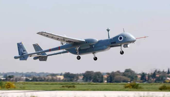Indian Navy's unmanned aircraft crashes in Gujarat's Porbandar