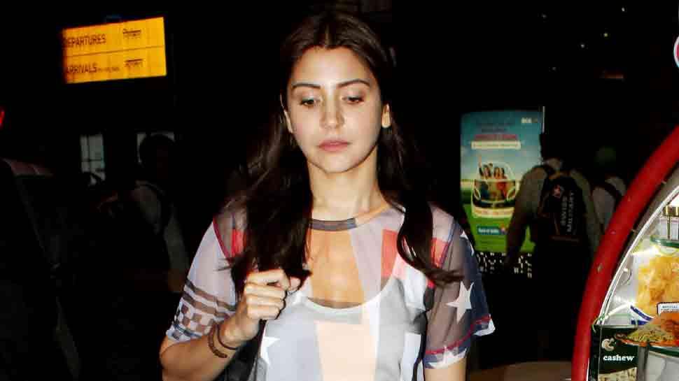 Anushka Sharma returns home after cheering for Virat Kohli at Bangalore — See pics