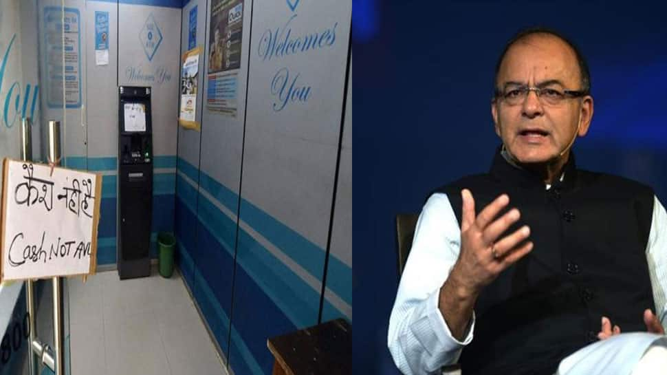 Cash shortage being tackled quickly, says Arun Jaitley after ATMs run dry in several cities