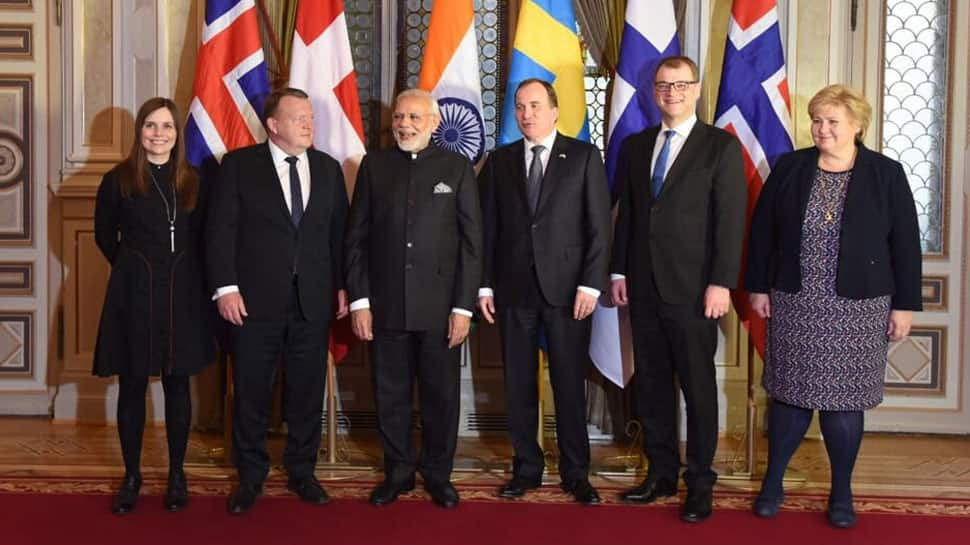 PM Modi holds bilateral meetings with premiers of Finland, Denmark, Iceland and Norway