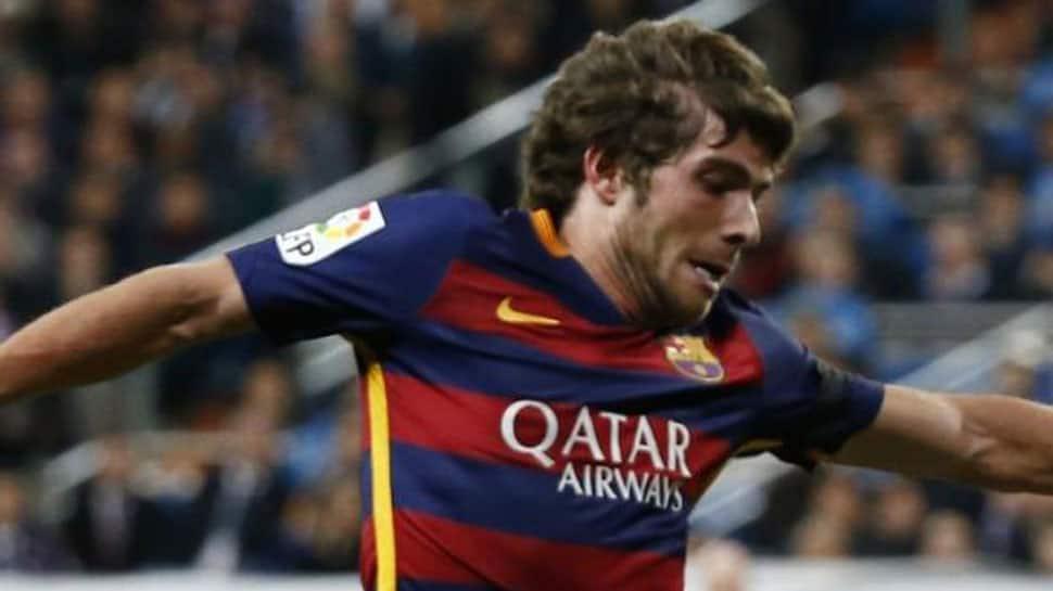 La Liga: Barcelona hold on for draw at Celta Vigo after Sergi Roberto sent off