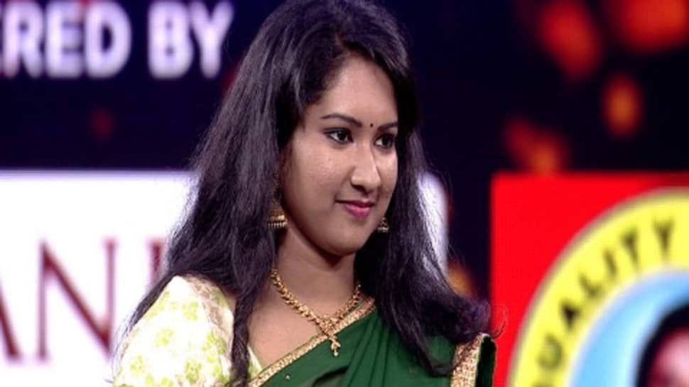 Varsha wins Zee Tamil's singing reality show Sa Re Ga Ma Pa