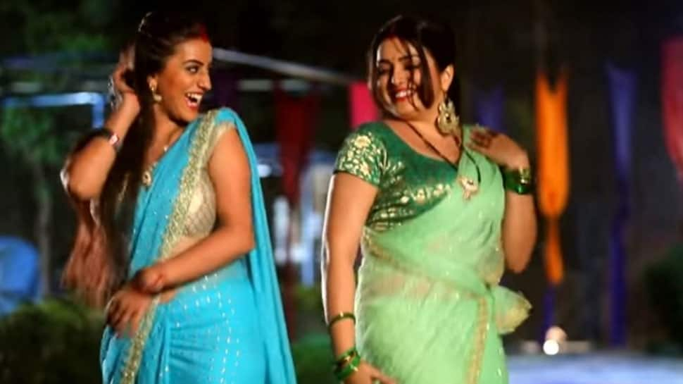 Bhojpuri sizzlers Amrapali Dubey-Akshara Singh display awesome dance moves in this throwback Holi video—Watch