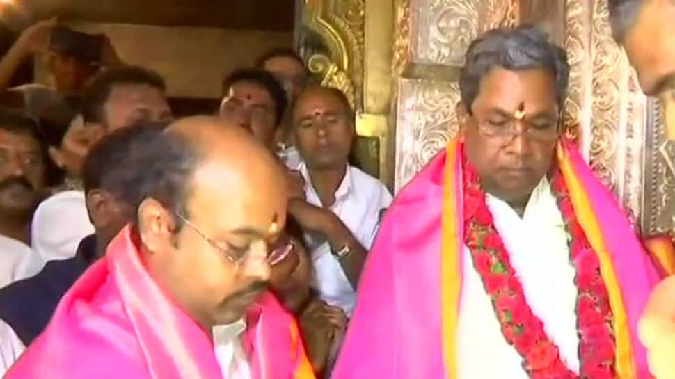 Karnataka assembly elections 2018: After seeking blessings in earnest, Siddaramaiah files nomination