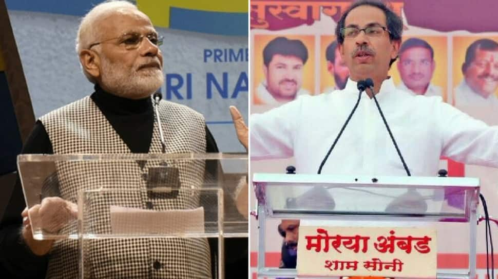 PM Modi may become 'mauni baba' in India, but talks on foreign land: Shiv Sena