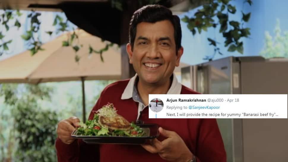 'Banarasi beef fry?' Sanjeev Kapoor trolled for 'Malabar paneer', Twitter suggests more recipes