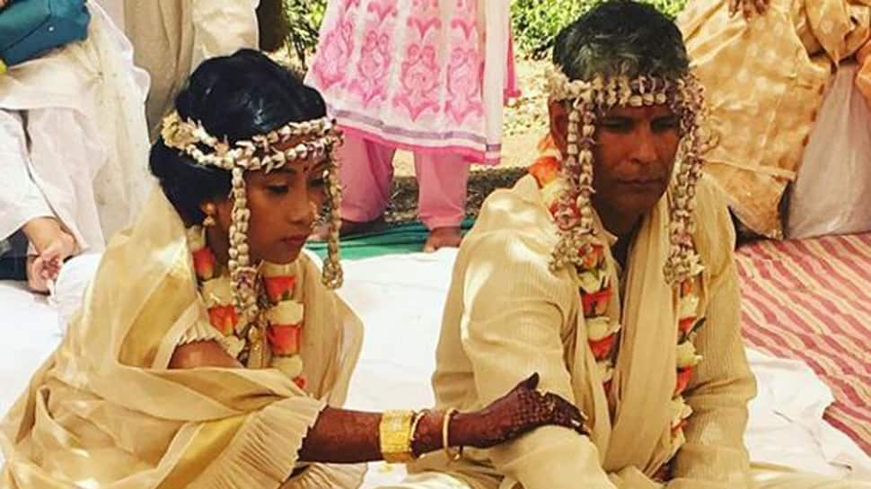 Milind Soman ties the knot with girlfriend Ankita Konwar– Pictures inside