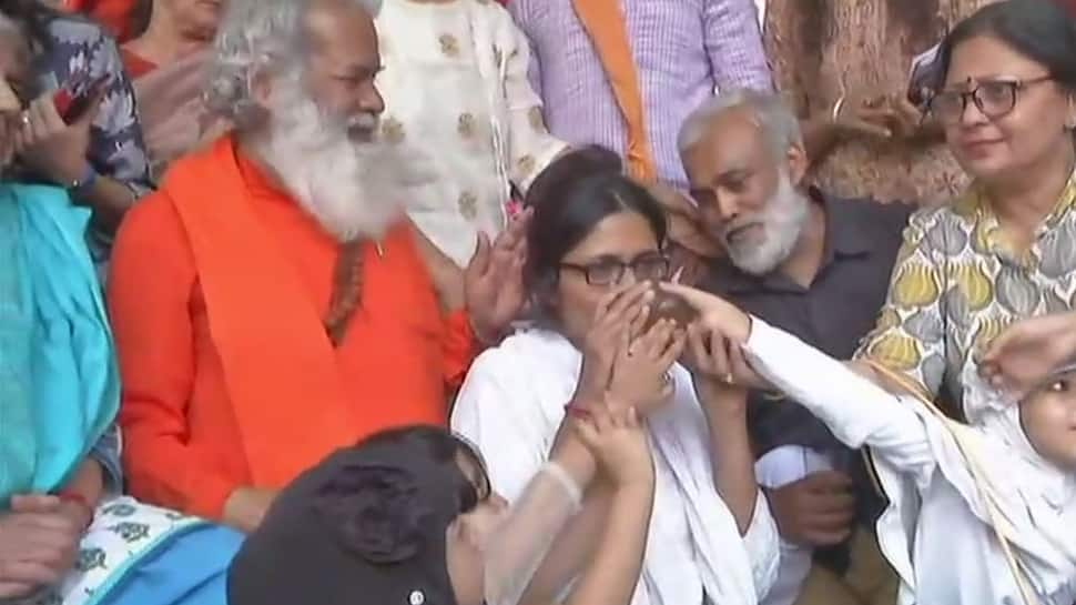 DCW Chief Swati Maliwal ends indefinite fast, terms decision on death for rapists 'historic victory'