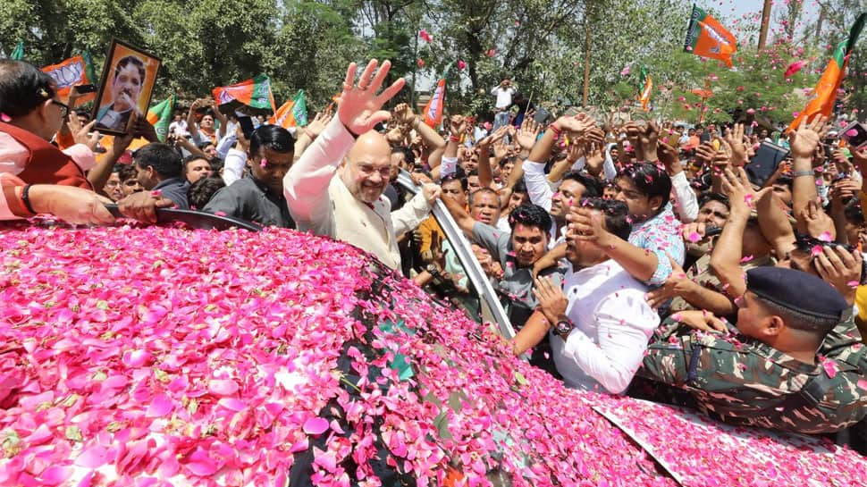 Rahul Gandhi keeps questioning Modi government, but what has Congress done for masses, asks Amit Shah