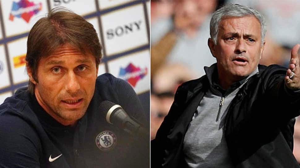 Ahead of FA Cup final, Chelsea's Antonio Conte says Jose Mourinho spat is over
