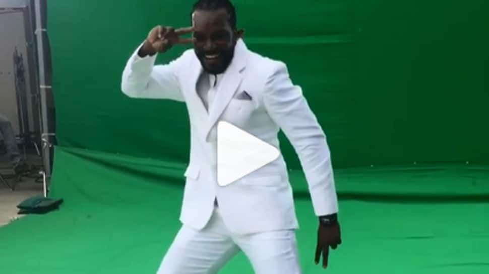 Sorry Sapna Choudhary, Chris Gayle was actually dancing to Sunny Leone's 'Laila' song—Watch